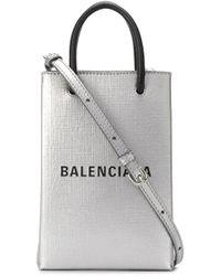 Balenciaga - ショッピング フォンホルダーバッグ ミニ - Lyst