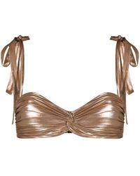 Maria Lucia Hohan Haut de bikini Goldie - Multicolore