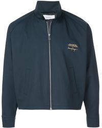 Second/Layer Embroidered Jacket - Blue