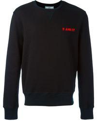 AMI 'F.AMI.LY' Sweatshirt - Schwarz