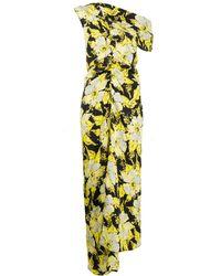 Colville フローラル ドレス - ブラック