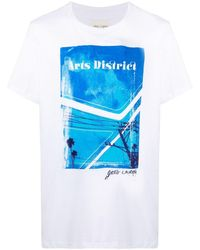 Greg Lauren グラフィック Tシャツ - ホワイト