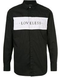 Loveless - Studded Shirt - Lyst