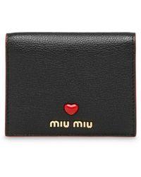 Miu Miu - マドラス 財布 - Lyst
