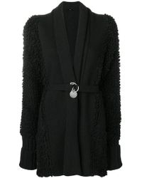 DIESEL - Belted Fitted Coat - Lyst