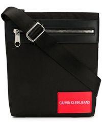 Calvin Klein - Logo Messenger Bag - Lyst