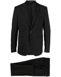 Tagliatore シングルスーツ - ブラック