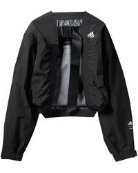 adidas X HYKE veste à coupe crop - Noir