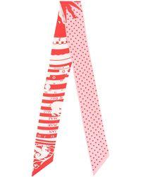 Hermès Twilly スカーフ - ピンク