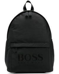 BOSS by Hugo Boss Рюкзак С Логотипом - Черный