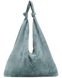 The Row Bolso shopper estilo hobo - Azul