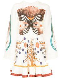 Chloé - Pictorial Print Dress - Lyst