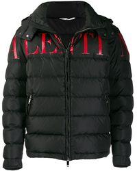 Valentino Donsjack Met Logo - Zwart