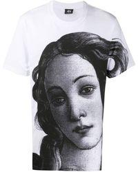 Stussy グラフィック Tシャツ - ホワイト