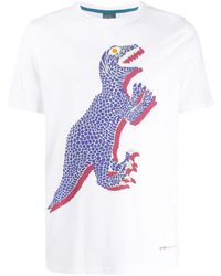 PS by Paul Smith Dino Tシャツ - ホワイト