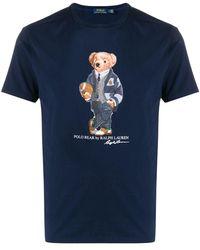 Polo Ralph Lauren Polo Bear Tシャツ - ブルー