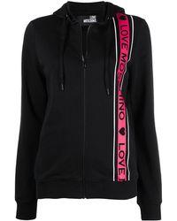 Love Moschino Куртка На Молнии С Логотипом - Черный