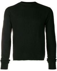 Rick Owens オーバーサイズスリーブ セーター - ブラック