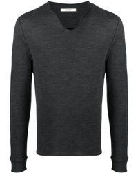Zadig & Voltaire Monastir Skull-print Sweater - Grey