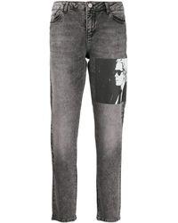 Karl Lagerfeld Джинсы Karl Legend Прямого Кроя - Серый