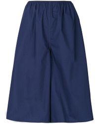 Sofie D'Hoore - Parade Poplin Shorts - Lyst