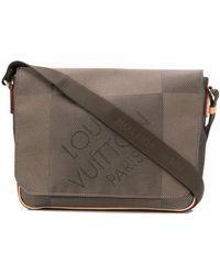 Louis Vuitton 2012 pre-owned Damier Geant Kuriertasche - Braun