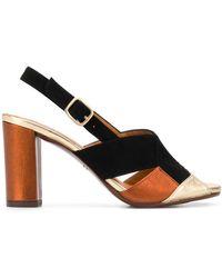 Chie Mihara Benita 90mm Heeled Sandals - Black