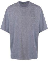 Balenciaga - Self Print Boxy T-shirt - Lyst