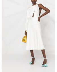Matériel ワンショルダー ドレス - ホワイト
