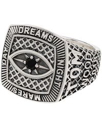 Tom Wood Ring - Metallic