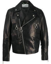Off-White c/o Virgil Abloh Arrow Biker Jacket - Black