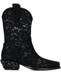 Dolce & Gabbana - Texan ブーツ - Lyst