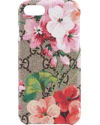 Gucci Blooms Supreme Iphone Case - Multicolor
