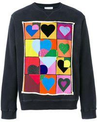 J.W. Anderson   Hearts Sweatshirt   Lyst