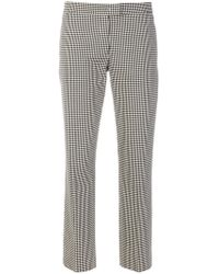 PS by Paul Smith - Slim Fit Vichy Trousers - Lyst