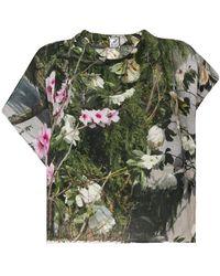 Anntian - Floral Print Top - Lyst