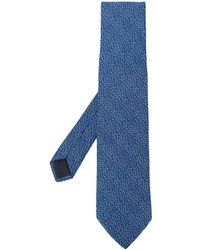 Hermès 2000s Pre-owned Dotted Tie - Blue