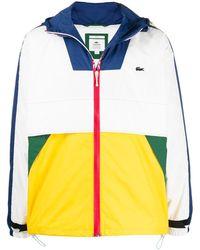 Lacoste L!ive Yellow Windbreaker Jacket