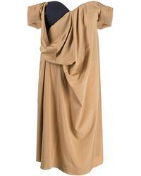 Chalayan - オープンネック ドレス - Lyst