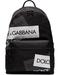 Dolce & Gabbana 'Vulcano' Rucksack - Schwarz