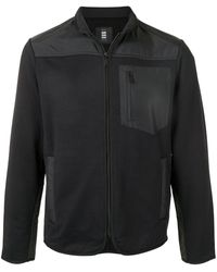 Kent & Curwen ジップアップ スウェットシャツ - ブラック