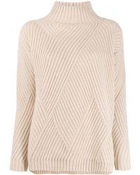 Agnona - リブニット セーター - Lyst