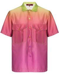 Sies Marjan Dean グラデーションシャツ - ピンク