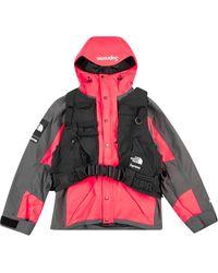 Supreme X The North Face Rtg Vest-detail Jacket - Black
