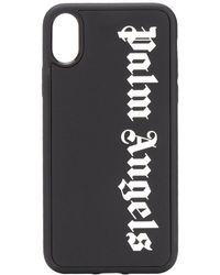 Palm Angels ロゴ Iphone X ケース - ブラック