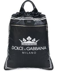 Dolce & Gabbana - Zaino con cordini - Lyst