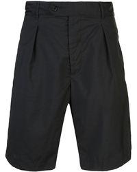 Engineered Garments テーパード ショートパンツ - ブラック