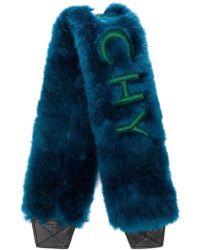Givenchy - Logo Fur Stole - Lyst