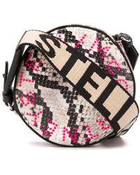 Stella McCartney Мини-сумка Через Плечо С Логотипом - Черный