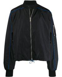 Unravel Project ボンバージャケット - ブラック